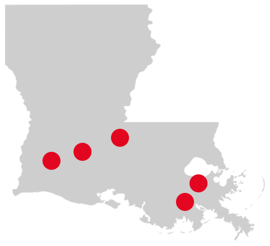 Peterbilt of Louisiana store locations